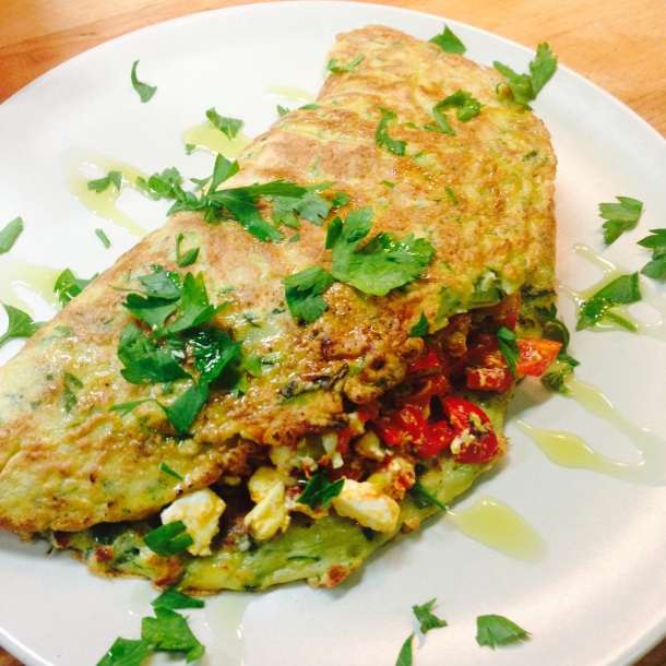 Courgette Pancake