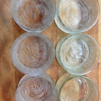 buttered ramekins