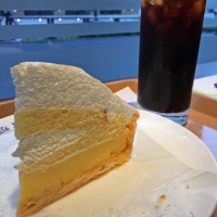 Lemon meringue & iced coffee