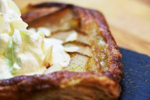 Pear, Ginger and Cinnamon galette