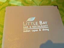 Little Bay menu